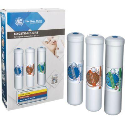 Szűrőbetét készlet - 3 részes, EXCITO víztisztítókhoz