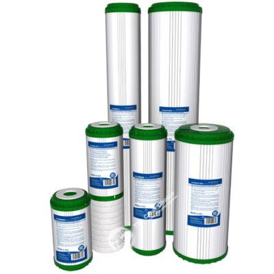 Szűrőbetét - kondicionáló, aktív szénnel, KDF töltettel, polipropilén szűrővel (FCCBKDF)