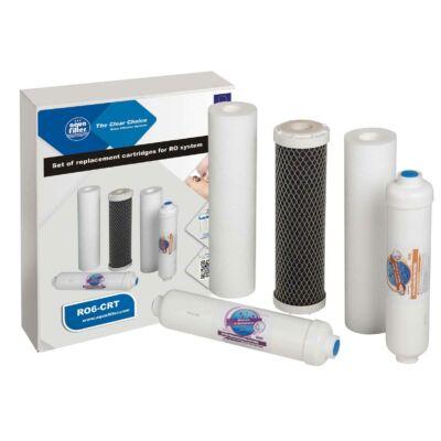 Szűrőbetét készlet - 5 részes, víztisztító berendezésekhez