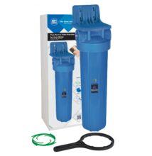 """Központi vízszűrő - 20""""-os Big Blue szűrőház, konzollal"""