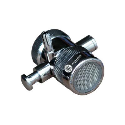 Idom - fém csatlakozó adapter BYPASS szeleppel