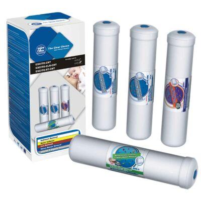 Szűrőbetét készlet - 4 részes, EXCITO víztisztítókhoz
