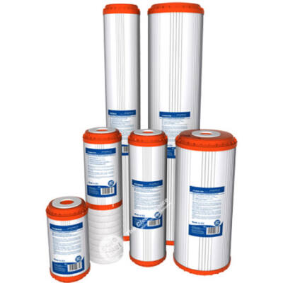 Szűrőbetét - kondicionáló, kókuszhéj aktív szén gyantával, mechanikai előszűréssel (FCCBHD)