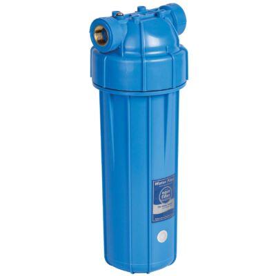 """Szűrőház hideg vízre, 10""""-os, max.: 6 bar 1/2"""" kék ház"""
